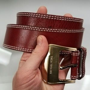 Michael Kors Belt W/ Gold Buckle